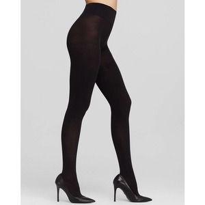 DKNY Opaque Coverage Control Top Tights in Navy